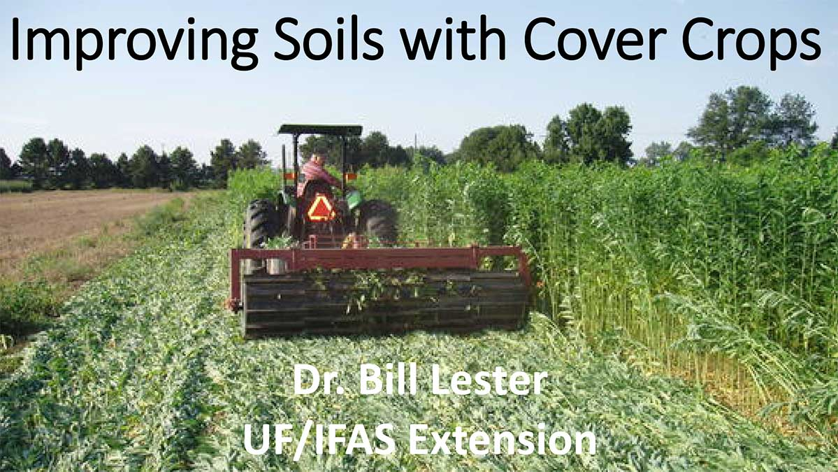 Improving Soils with Cover Crops Presentation Cover